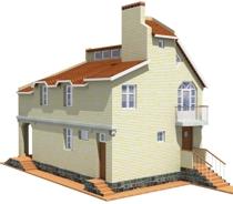 Проект жилого дома быстрица 200